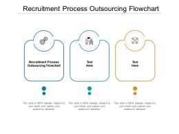 Recruitment Process Outsourcing Flowchart Ppt Powerpoint Presentation Infographic Template Icon Cpb