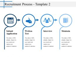 Recruitment Process Powerpoint Slide Backgrounds