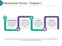 Recruitment Process Ppt Gallery Example Topics