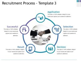Recruitment Process Ppt Gallery Format Ideas