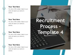 Recruitment Process Ppt Gallery Graphics Design