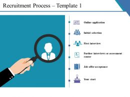 Recruitment Process Ppt Ideas
