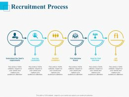 Recruitment Process Ppt Powerpoint Presentation Good