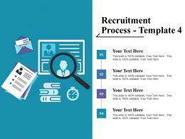 Recruitment Process Ppt Professional