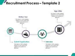 Recruitment Process Ppt Summary Graphics Download