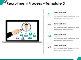 Recruitment Process Ppt Summary Graphics Example