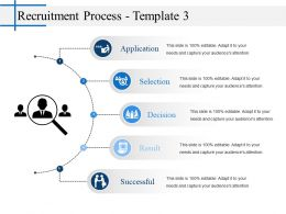 Recruitment Process Presentation Graphics