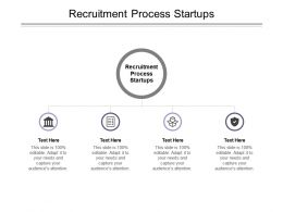 Recruitment Process Startups Ppt Powerpoint Presentation Ideas Templates Cpb