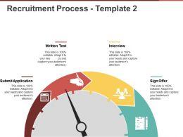 Recruitment Process Template 2 Powerpoint Slide Presentation Examples