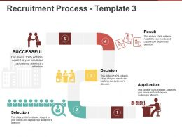 Recruitment Process Template 3 Presentation Portfolio