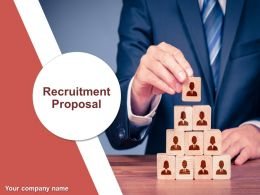 Recruitment Proposal Powerpoint Presentation Slides