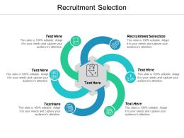Recruitment Selection Ppt Powerpoint Presentation Ideas Outline Cpb