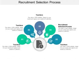 Recruitment Selection Process Ppt Powerpoint Presentation Styles Picture Cpb