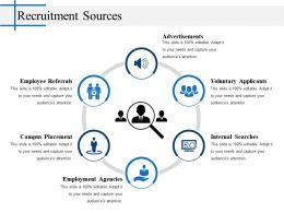 Recruitment Sources Powerpoint Slide Design Ideas