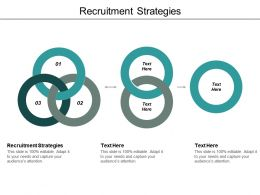 Recruitment Strategies Ppt Powerpoint Presentation Inspiration Example Cpb