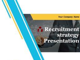 Recruitment Strategy Presentation Powerpoint Presentation Slides