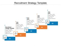 Recruitment Strategy Template Ppt Powerpoint Presentation Gallery