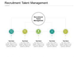 Recruitment Talent Management Ppt Powerpoint Presentation File Clipart Cpb