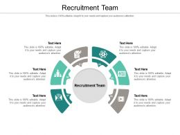 Recruitment Team Ppt Powerpoint Presentation Show Introduction Cpb
