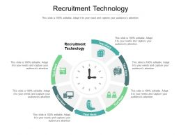 Recruitment Technology Ppt Powerpoint Presentation Inspiration Graphic Tips Cpb