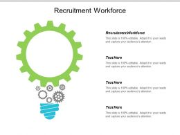 Recruitment Workforce Ppt Powerpoint Presentation Ideas Graphic Images Cpb