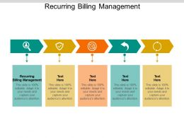 Recurring Billing Management Ppt Powerpoint Presentation File Slideshow Cpb