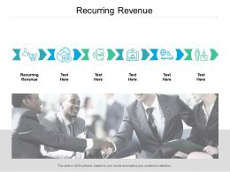 Recurring Revenue Ppt Powerpoint Presentation Slides Layout Cpb