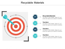 Recyclable Materials Ppt Powerpoint Presentation Infographics Clipart Cpb