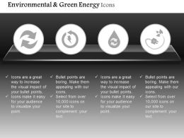 Recycle And Green Energy Icons With Plug And Water Safety Editable Icons