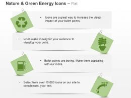 Recycle Fuel Cfl Tap Ppt Icons Graphics