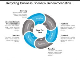 Recycling Business Scenario Recommendation Knight Marketing Business Automation Cpb