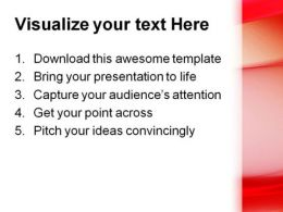 Red Abstract PowerPoint Template 0910  Presentation Themes and Graphics Slide03