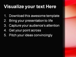 Red Abstract PowerPoint Template 0910  Presentation Themes and Graphics Slide02