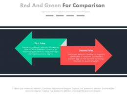 red_and_green_arrow_for_comparison_powerpoint_slides_Slide01