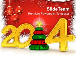 Red Background With 2014 PowerPoint Templates PPT Backgrounds For Slides 1113