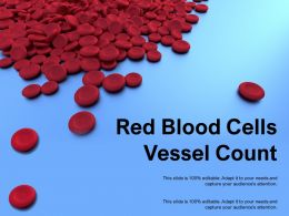 Red Blood Cells Vessel Count