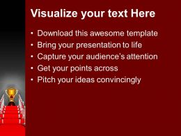 Red Carpet Award Ceremony PowerPoint Templates PPT Backgrounds For Slides 0113