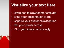 Red Carpet For Award Winners Success PowerPoint Templates PPT Themes And Graphics 0313