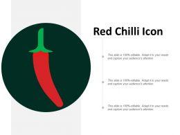 Red Chilli Icon