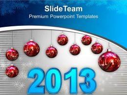 red_christmas_balls_displaying_2013_new_year_powerpoint_templates_ppt_themes_and_graphics_0113_Slide01