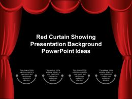 Red Curtain Showing Presentation Background Powerpoint Ideas