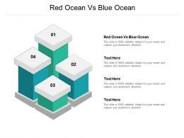 Red Ocean Vs Blue Ocean Ppt Powerpoint Presentation File Background Images Cpb