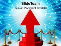 Red Podium Over Shining Bright Background Powerpoint Templates Ppt Themes And Graphics
