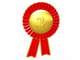 red_ribbon_batch_for_second_position_stock_photo_Slide01