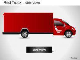 red_truck_side_view_powerpoint_presentation_slides_Slide02