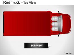 red_truck_top_view_powerpoint_presentation_slides_Slide02
