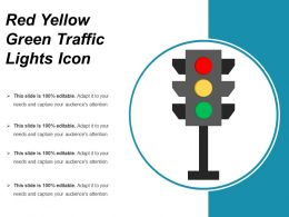Red Yellow Green Traffic Lights Icon