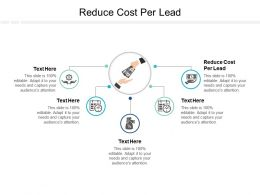 Reduce Cost Per Lead Ppt Powerpoint Presentation Summary Guidelines Cpb