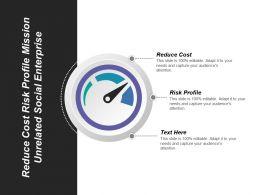Reduce Cost Risk Profile Mission Unrelated Social Enterprise