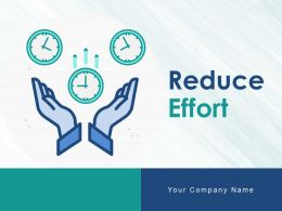 Reduce Effort Energy Project Management Operation Efficiency Marketing